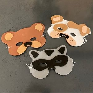 Set of Three Cute Not Scary Halloween 🎃 Masks
